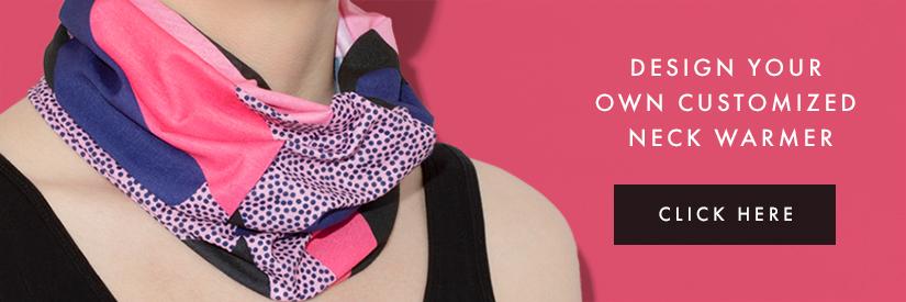 design your own neck warmer