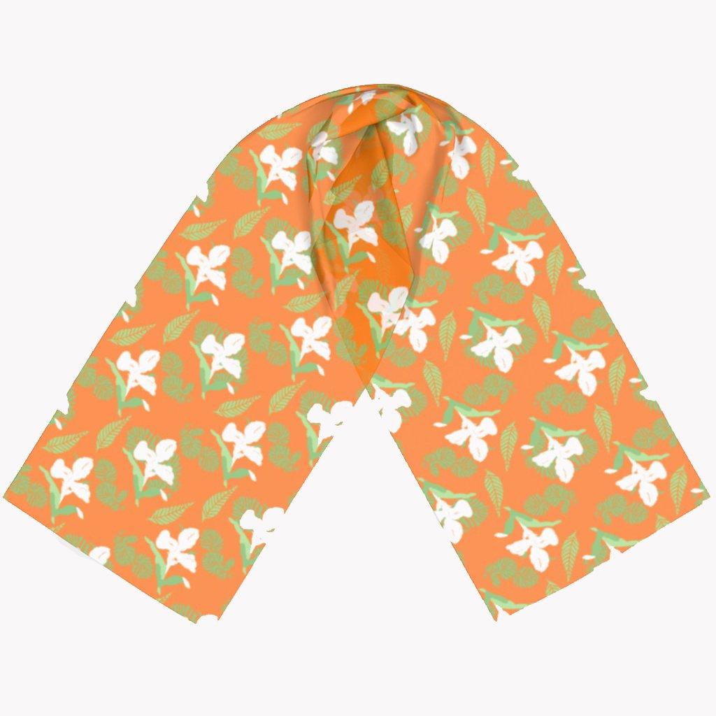 floral, printed scarves