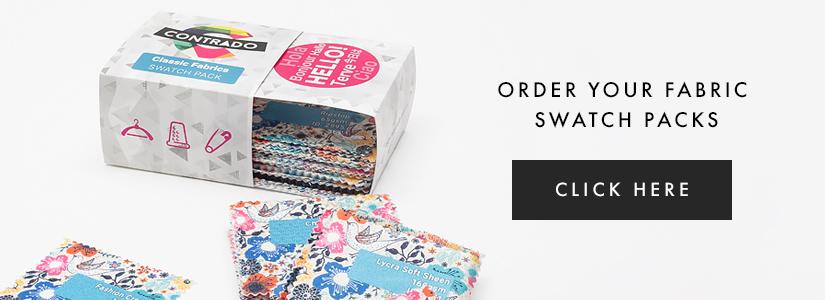 discover new fabrics through the contrado fabric swatch pack