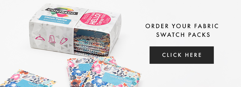 swatch pack for lingerie materials