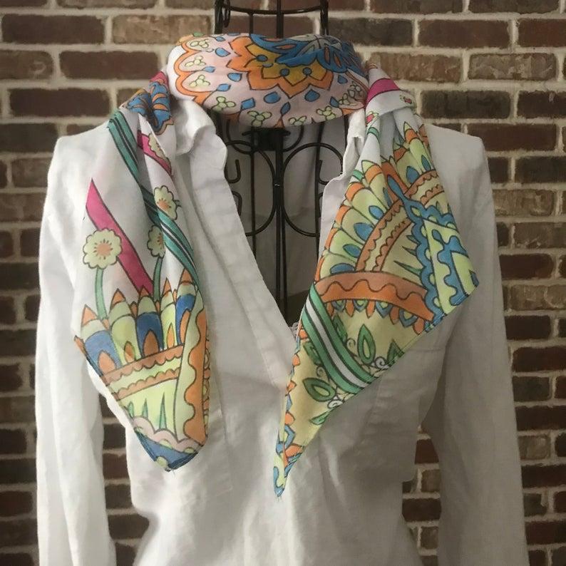 bohemian high quality scarf