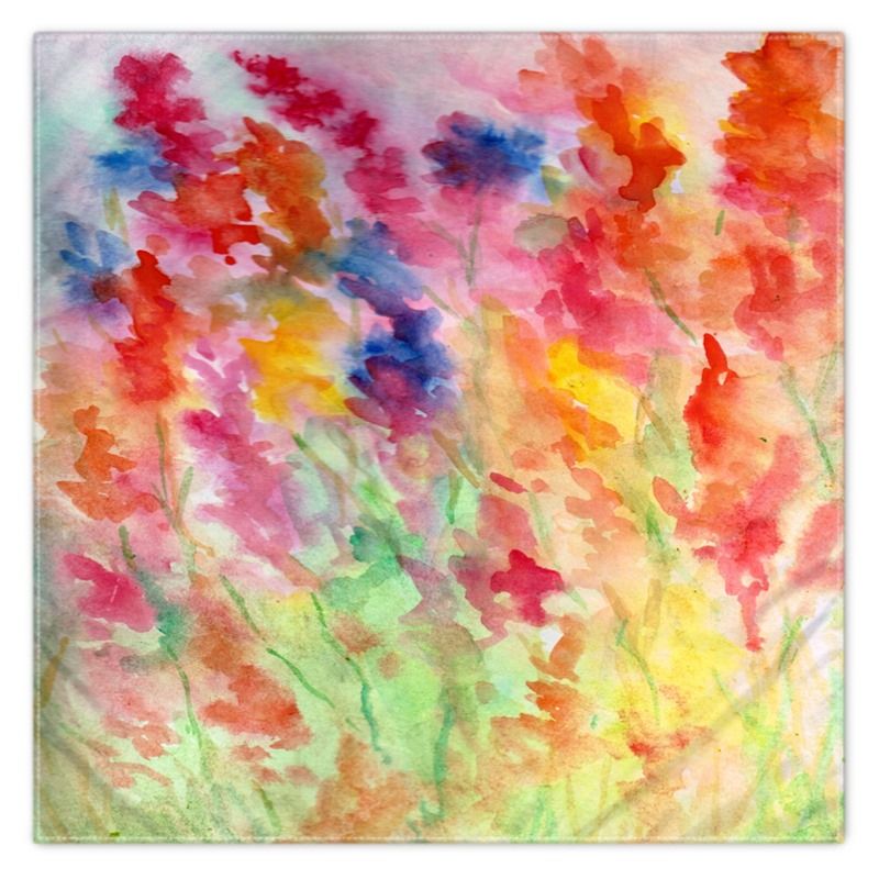 bright watercolor patterns