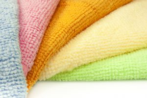 what is microfiber made from?