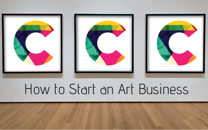 how to start an art business