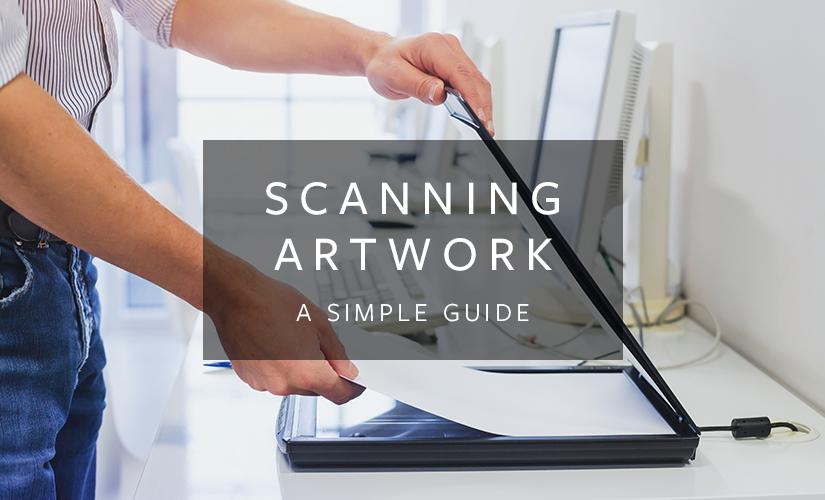 scanning artwork